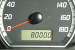スイフト君800000km.JPG